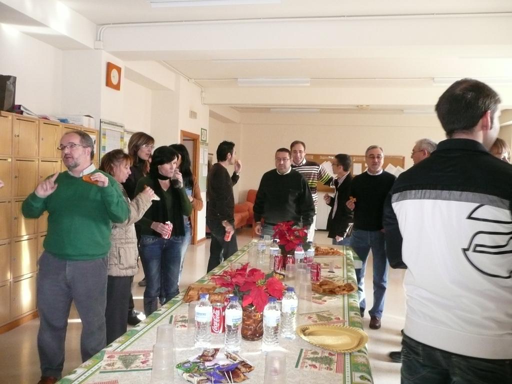 Photo of Desayuno de Navidad en la sala de profesores