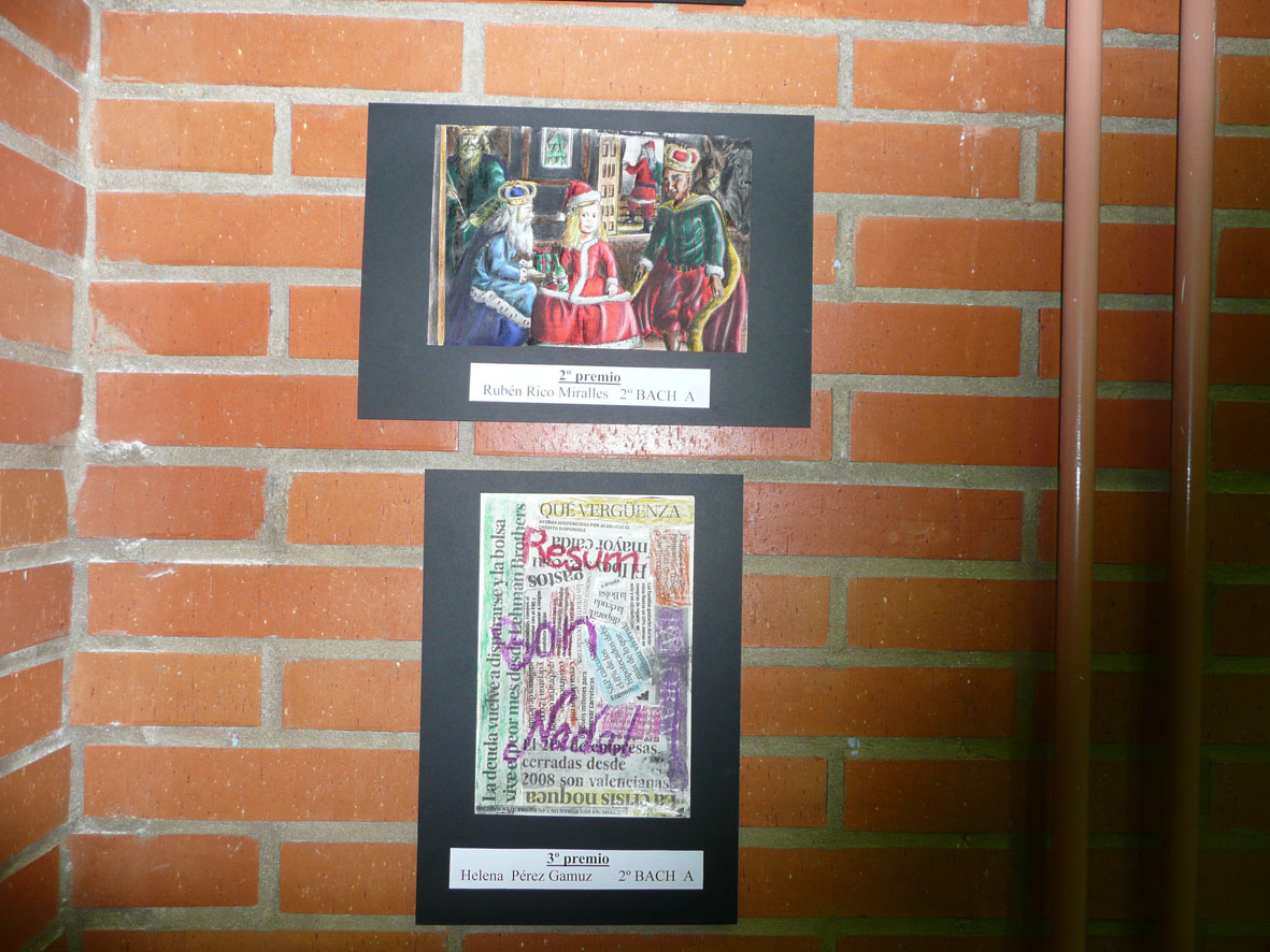 Photo of Decoración navideña  y tarjetas premiadas.