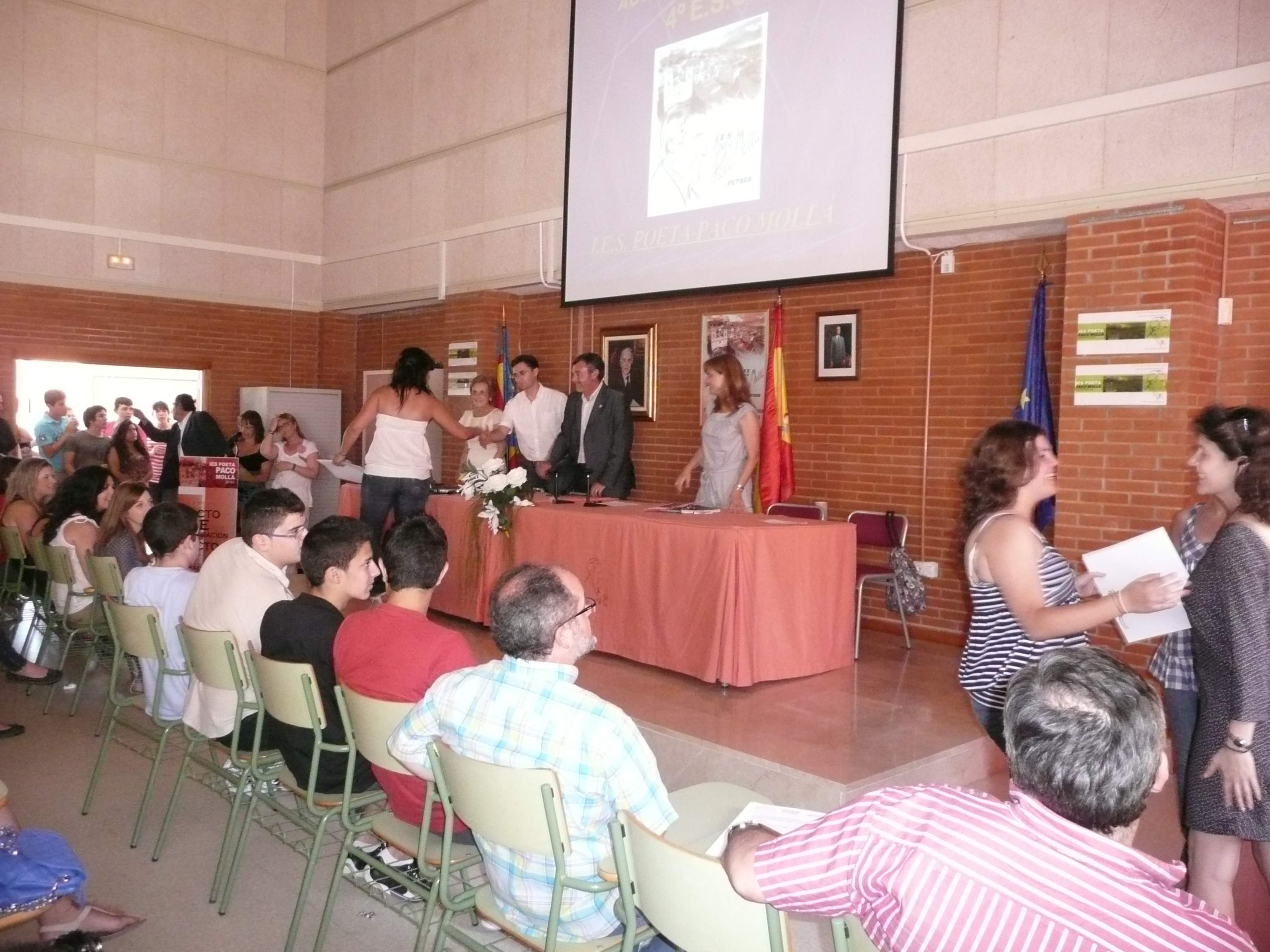 Photo of Fotos del acto de entrega de orlas de 4º de ESO