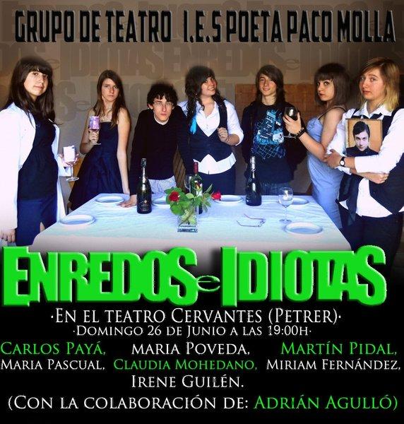 Photo of Representación del Grupo de teatro.
