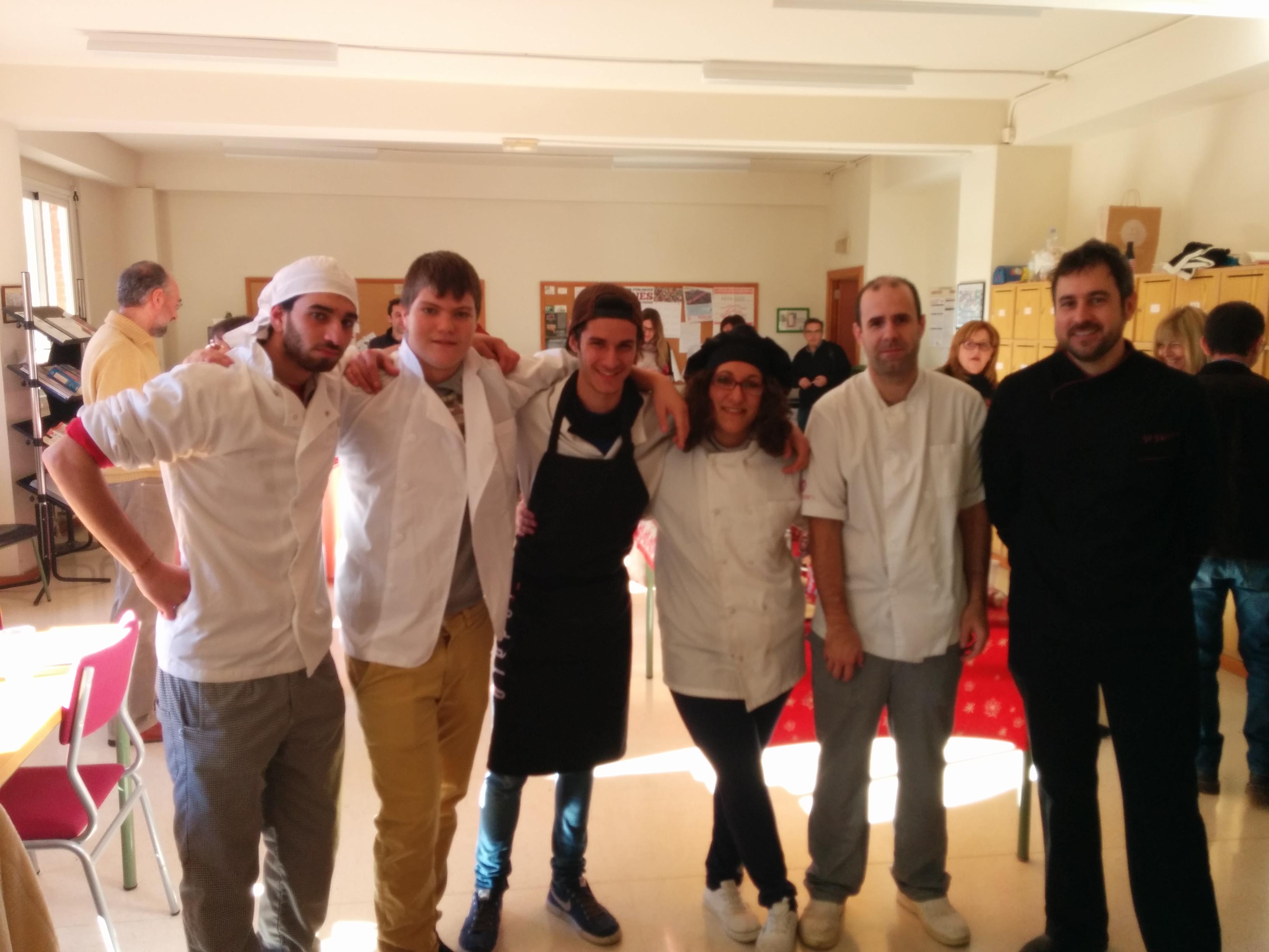 Photo of Ágape realizado por los alumnos del PFCB de Cocina