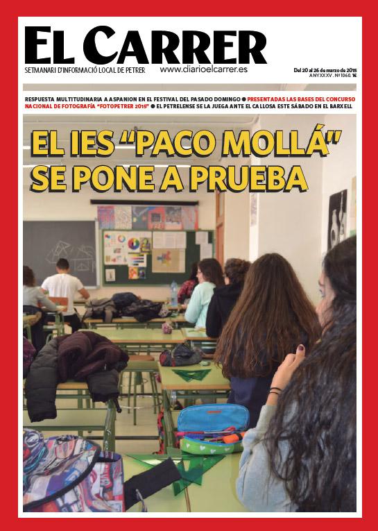 Photo of El IES Paco Mollá se pone a prueba