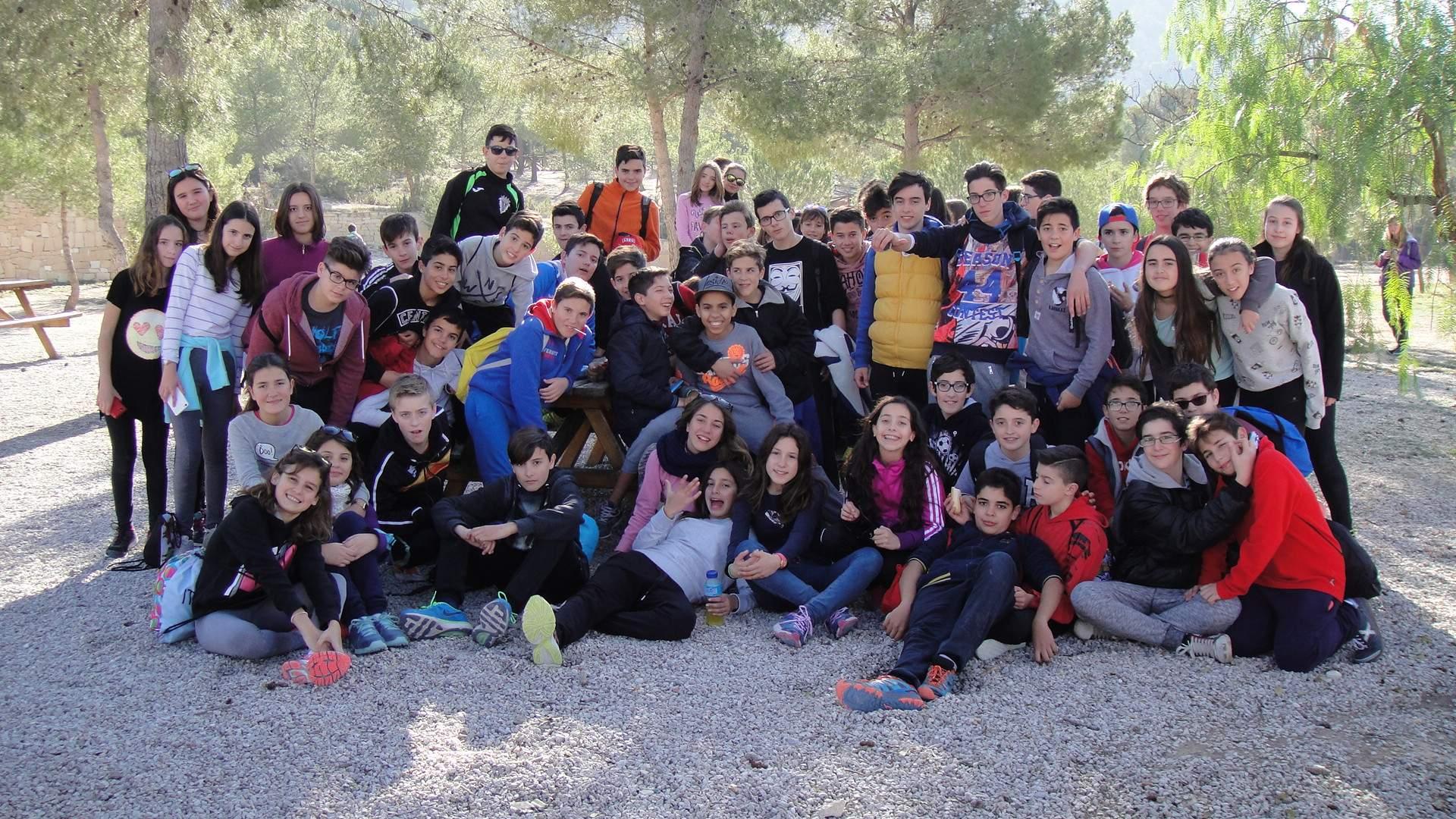 Photo of Jornada de convivencia con los alumnos de 1º de ESO en Caprala