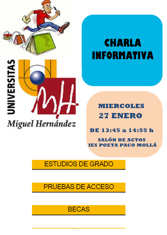 Photo of Charla de la Universidad Miguel Hernández
