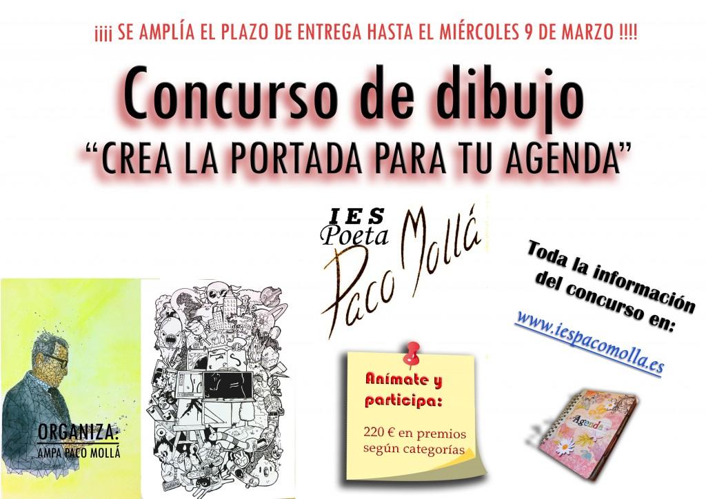 Photo of II EDICIÓN DEL CONCURSO DE DIBUJO CREA LA PORTADA DE TU AGENDA  2016-2017 (ampliado el plazo de presentación)