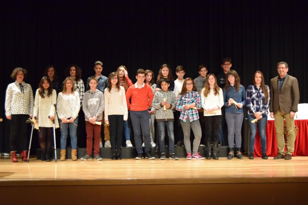 Photo of Homenaje para los alumnos/as con mejores expedientes académicos del curso 2014-15