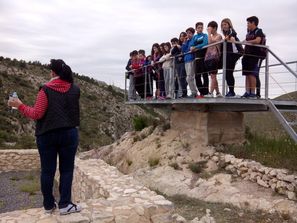 Photo of Salida al Monastil con los alumnos de 1º de ESO