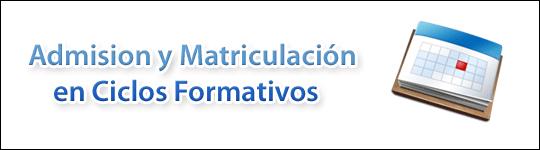 Photo of CALENDARIO DE ADMISIÓN Y MATRICULACIÓN CURSO 2016/2017 – FP BÁSICA Y CICLOS FORMATIVOS
