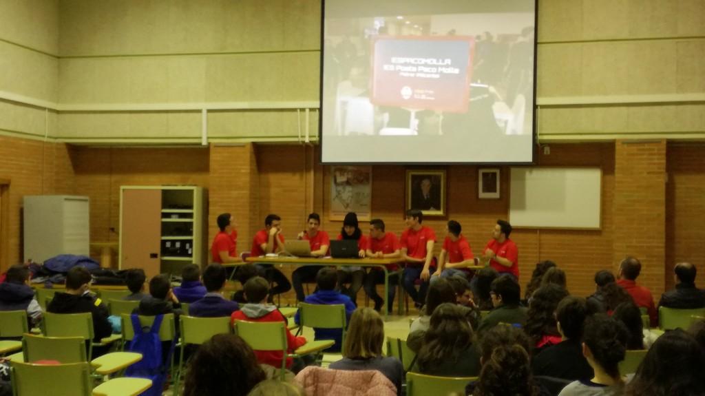 Photo of Charlas ciberseguridad – III Jornadas Culturales IES Poeta Paco Mollá