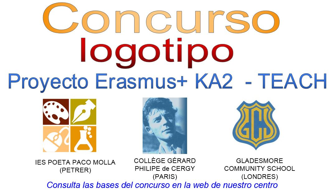 Photo of BASES CONCURSO LOGOTIPO KA2 ERASMUS+