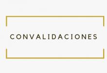 Photo of Información sobre Convalidaciones Curso 2019-2020