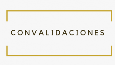 Photo of Información sobre Convalidaciones Curso 2019-2020