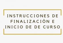 Photo of Directrices para la finalización del curso 2019-2020 y el inicio del curso 2020-2021