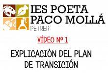 Photo of VÍDEO Nº 1 – Explicación del Plan de Transición de Primaria a Secundaria