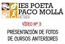 Photo of VÍDEO Nº 3 – Presentación de fotos de cursos anteriores