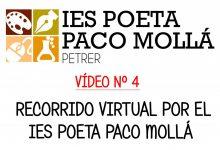 Photo of VÍDEO Nº 4 – Recorrido virtual por el IES Poeta Paco Mollá