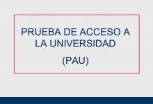 Photo of Información PAU 2020