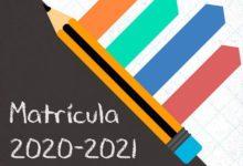 Photo of Instrucciones de matrícula para el curso 2020-21