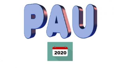 Photo of PLAZO DE PRESENTACIÓN DE CORRECCIONES Y OMISIÓN DE DOCUMENTACIÓN EN LA MATRÍCULA PAU 2020