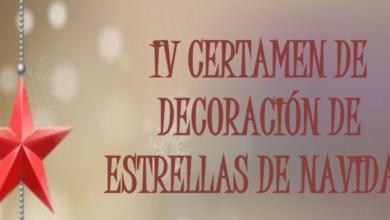 Photo of IV CERTAMEN DE DECORACIÓN DE ESTRELLAS DE NAVIDAD